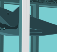 Hirst's Shark Tank Sticker
