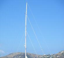 Greek Island Sailboat by SlavicaB