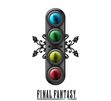 Final Fantasy - Materia iPhone case by Reverendryu