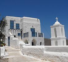 Greek Island Church 6 by SlavicaB