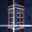 Tardis (Red White Blue) by thegadzooks