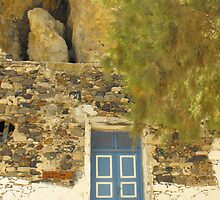 Greek house in the hill by SlavicaB