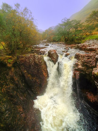 Lower Falls, Glen Nevis by Steve