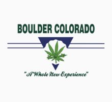 Marijuana Boulder Colorado by MarijuanaTshirt