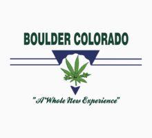 Marijuana Boulder Colorado by MarijuanaTshirt