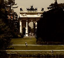 The Arch of Peace by Peter Ames