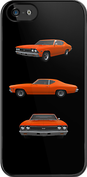 Orange 1968 Chevelle SS by bradyarnold