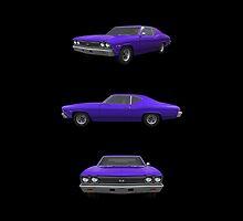 Purple 1968 Chevelle SS by bradyarnold