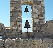 Patmos Greek Island church bells #photography by SlavicaB