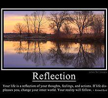 Reflection by wisdomwords