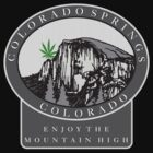 Cannabis Colorado Springs by MarijuanaTshirt