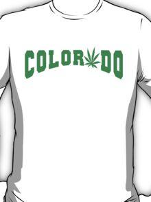 Marijuana Leaf Colorado T-Shirt