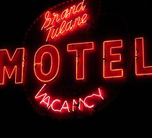 Grand Tulane Motel Vacancy by Guy Ricketts