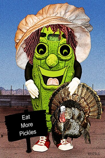 Happy Thanksgiving with Dolly Dill by Terri Chandler
