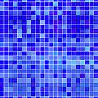 Blue Mosaic [iPhone / iPad / iPod Case] by Damienne Bingham