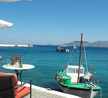 Greek Island Samos restaurant 2 #photography by SlavicaB