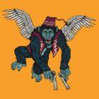 Flyin' Monkey by ZugArt