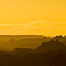 Grand Canyon in Silhouette by RayDevlin