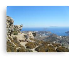Astonishing Greek Islands 3 #photography Canvas Print