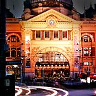 Flinders street station by lauren hart