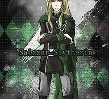Salazar Slytherin by YuzuSmiile