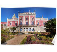 Terrace of The Palacio De Estoi Poster