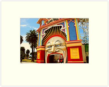 Luna Park Melbourne .. a closer view by Michael Matthews