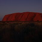 Uluru at Night by Carol James