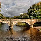 Lower Hodder Bridge ,   by Irene  Burdell