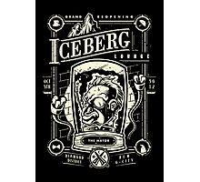 The Iceberg Lounge Photographic Print