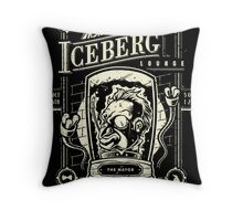 The Iceberg Lounge Throw Pillow