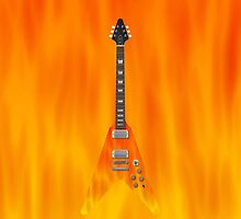 Fire Guitar! by bradyarnold