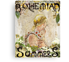 Bohemian Summers Canvas Print