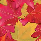 Autumn Maple Leaves by Lisa Snyder