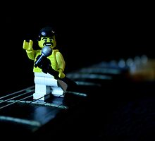 Lego Freddie Mercury by Victoria Lincoln