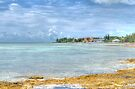 Ocean view from Eastern Road at Yamacraw in Nassau, The Bahamas by 242Digital