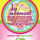 Infinite Path Martial Arts - Youth Creed - pink by Robyn Scafone
