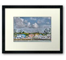 Fort Charlotte view from Arawak Cay in Nassau, The Bahamas Framed Print