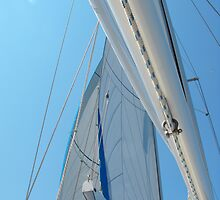 Sailboat Amel Sail in the sky 2 #photography by SlavicaB