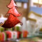Merry Red Tree by Michelle Ricketts