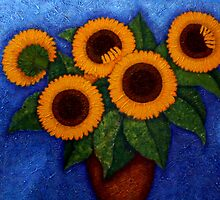 Sunflowers of my hope II by Madalena Lobao-Tello