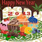 2013 Calendar food and drinks by aldona