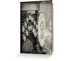 Light and Sound: Fairground Organ Greeting Card