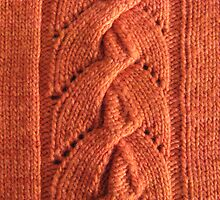 Alata knitted lace cable by knititude