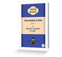 The Angel's Kiss Greeting Card