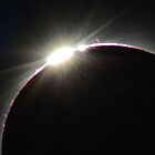 Eclipse - Cairns 2012, Diamond Ring close up by Wayne England