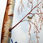 Winter Wrens by Denise Martin