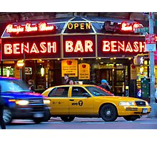 Taxi!    -     New York City Photographic Print