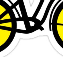 Bicycle B Sticker