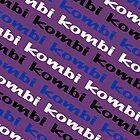 VW iPad case - Kombi Kombi Kombi - Purple by melodyart